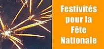 Festivités pour la Fête Nationale