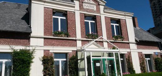 Façade de la mairie d'Holnon