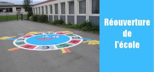 Réouverture de l'école