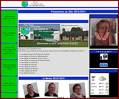 Site internet de l'AFC Holnon-Fayet