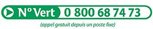 Numéro vert déchets ménagers