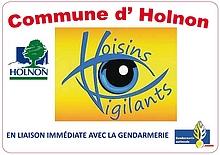 Logo voisins vigilants Holnon