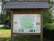 Panneau bois esplanade