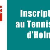 Inscriptions au Tennis Club d'Holnon