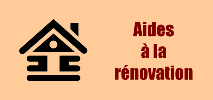 Aides à la rénovation