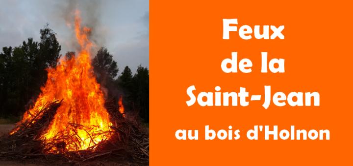 Feux de la Saint-Jean au bois d'Holnon