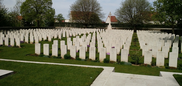 Cimetière Britannique de Chapelle - Chapelle British Cemetery