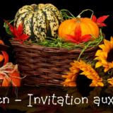 Halloween - Invitation aux enfants