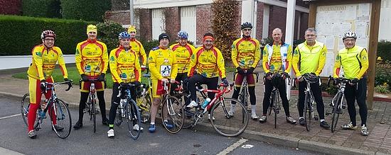 Photo de groupe - Amicale des Cyclotouristes d'Holnon