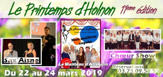 Printemps d'Holnon 2019