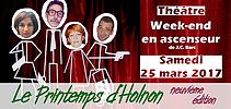 Printemps d'Holnon 2017 - Soirée théâtre
