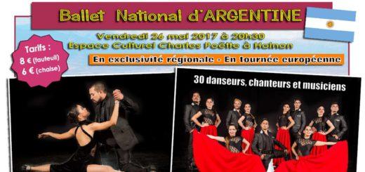 Ballet National d'Argentine à Holnon