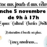 Bourse aux jouets et aux vêtements - 5 novembre 2017 - Holnon