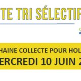 Collecte tri sélectif Holnon - 10 juin 2020