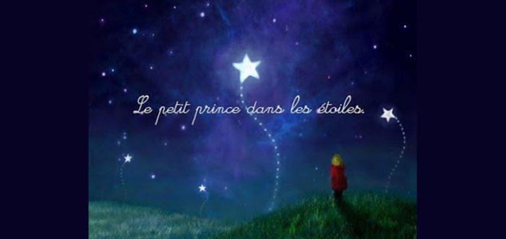 Le petit prince dans les étoiles