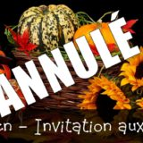 Halloween - Invitation aux enfants - Annulé