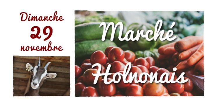 Marché Holnonais - Dimanche 29 novembre 2020