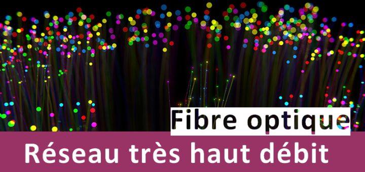 Fibre optique - Réseau très haut débit