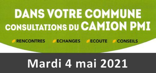 Consultations du camion PMI - 4 mai 2021 - Holnon