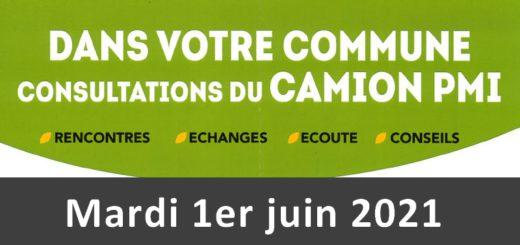 Consultation du camion PMI - 1er juin 2021 - Holnon